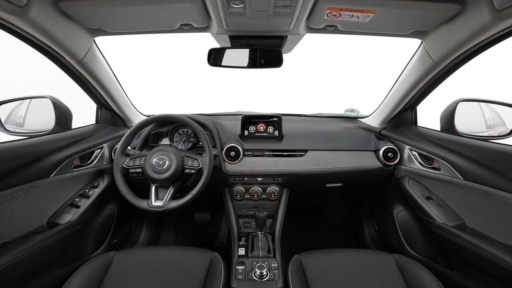 Nội thất của Mazda CX-3 2021.