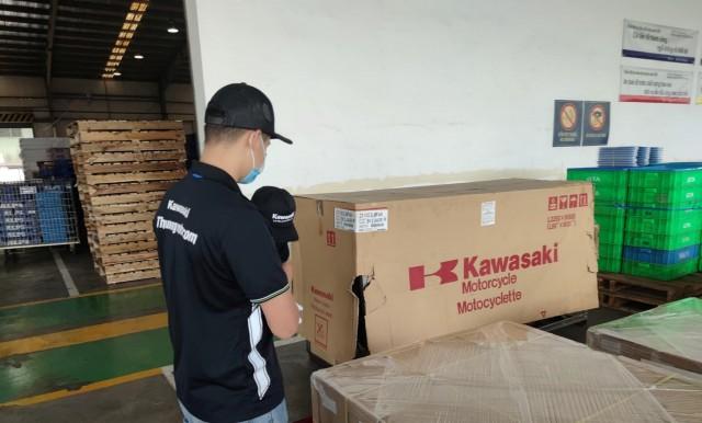 Kawasaki ZX-10R 2021 có mặt tại Việt Nam, chờ ngày ra mắt chính thức