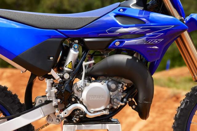 Yamaha YZ85LW 2022 có khối động cơ mạnh mẽ hơn