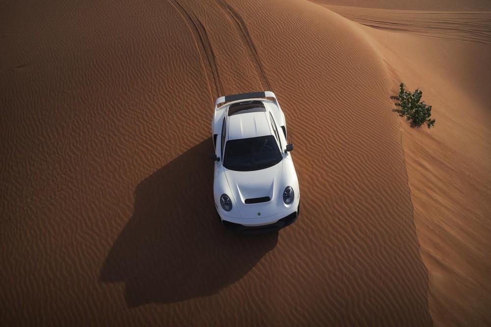 Marsien được phát triển dựa trên Porsche 911 Turbo S