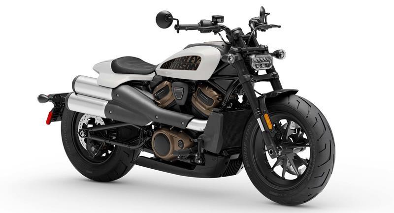 Màu Stone Whashed White Pearl trên Harley-Davidson Sportster S