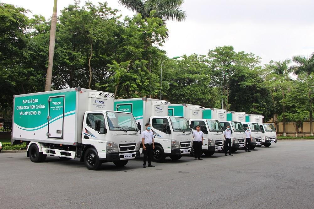 Những chiếc xe tải chuyên dụng này được phát triển dựa trên Mitsubishi Fuso Canter