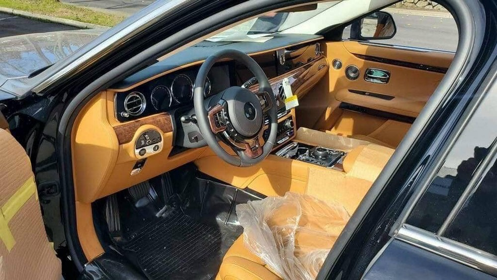 Nội thất xe siêu sang Rolls-Royce Ghost thế hệ hoàn toàn mới