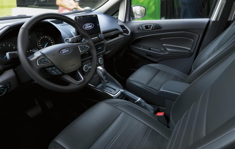 Nội thất bên trong Ford Ecosport hiện đại, thực dụng và tiện nghi.