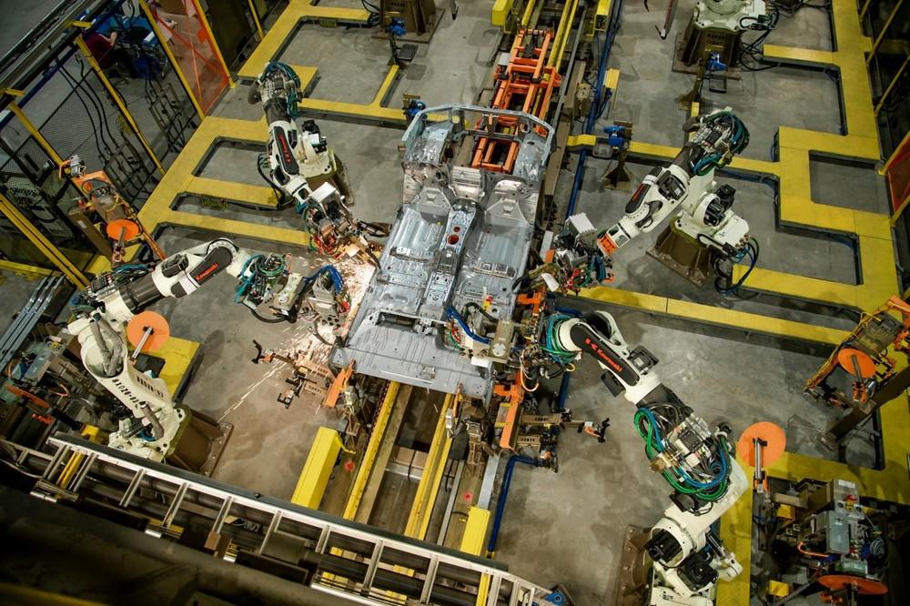 Dây chuyền lắp ráp của Ford Ranger đạt chuẩn toàn cầu với xưởng hàn tự động hóa tới 90%.