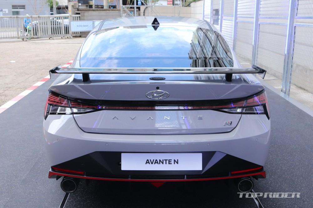 Hyundai Elantra N 2022 có khóa vi sai chống trượt điện tử