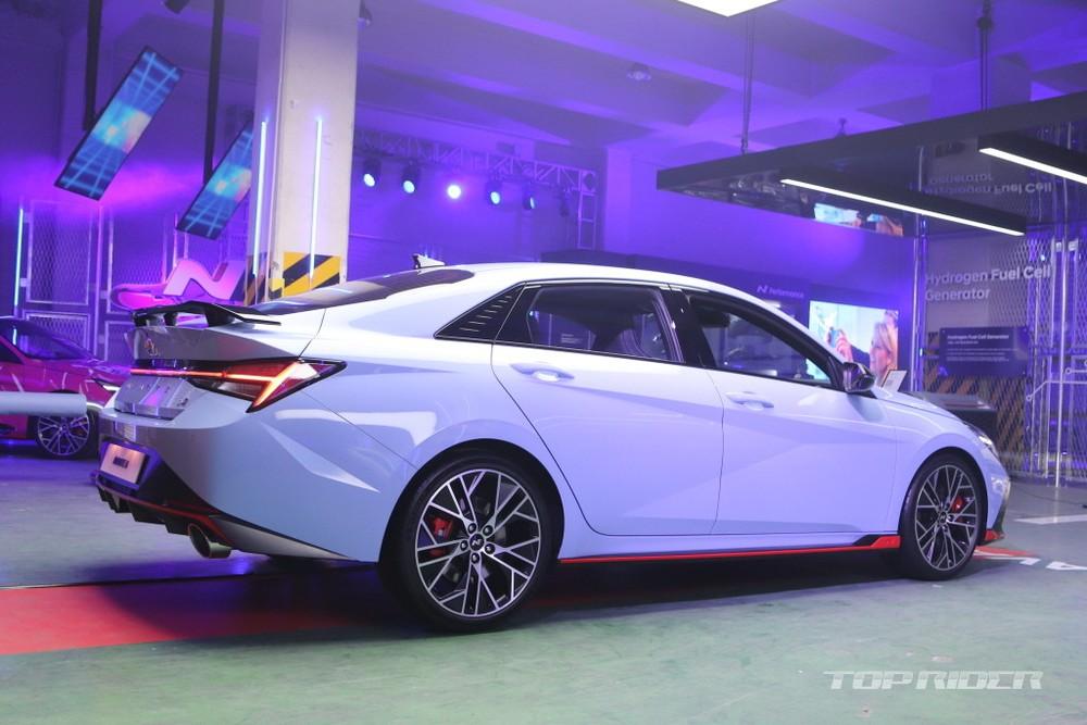 Hyundai Elantra N 2022 có thể tăng tốc từ 0-100 km/h trong 5,3 giây