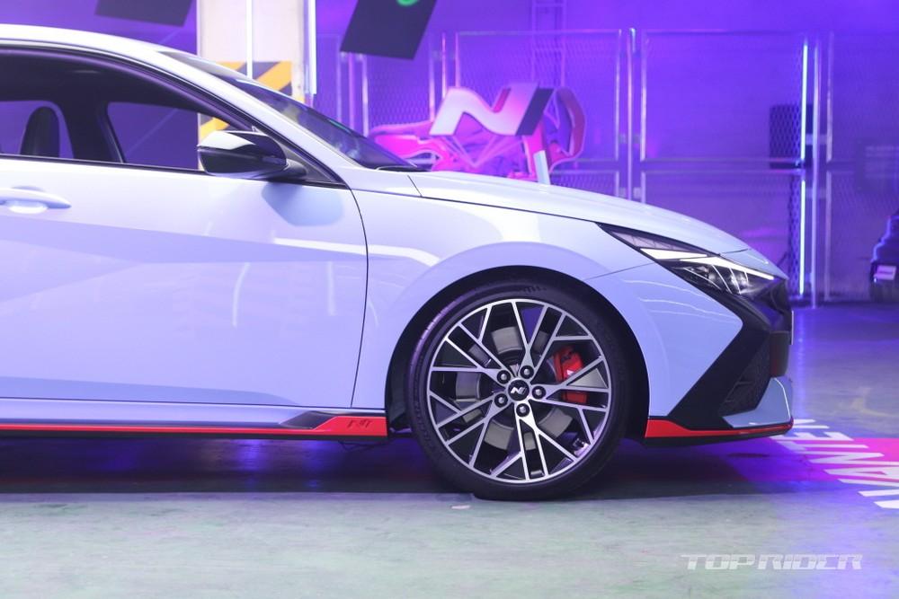 Bộ vành 19 inch dành riêng cho Hyundai Elantra N 2022