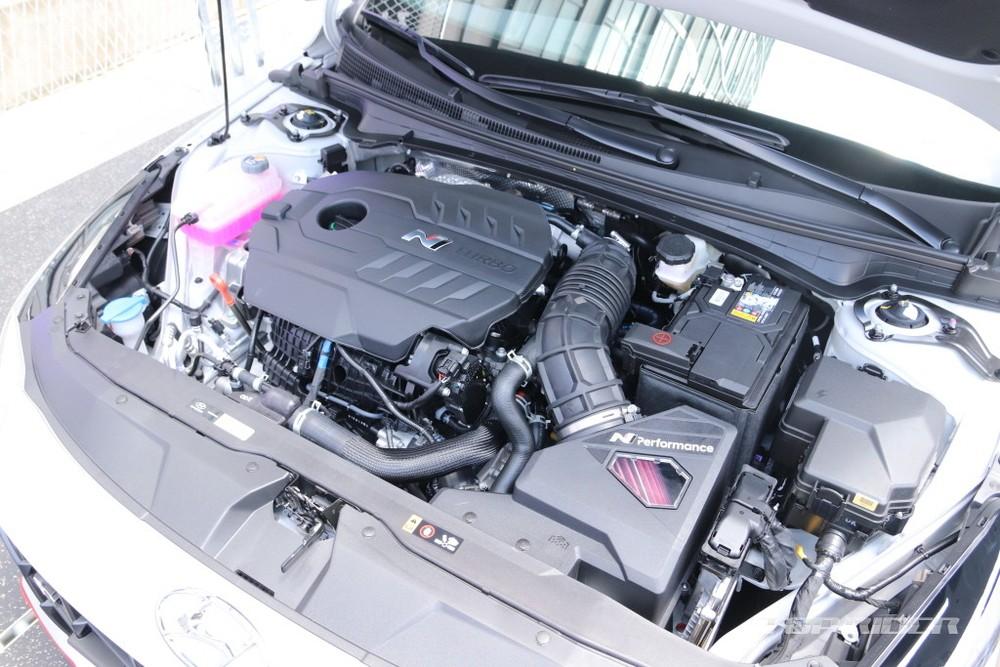 Động cơ của Hyundai Elantra N 2022
