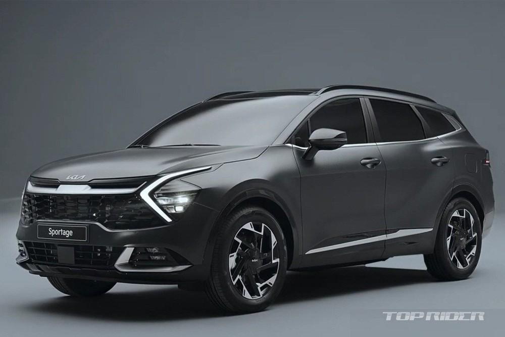 Kia Sportage 2022 phiên bản hybrid dùng động cơ giống Hyundai Tucson Hybrid nhưng tiết kiệm xăng hơn