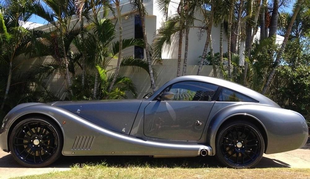 Vì yêu thích chiếc Morgan Aeromax nên ông Allen muốn được chôn cùng chiếc xe này