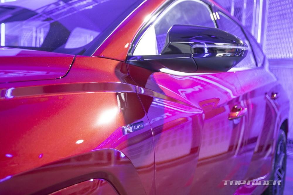 Vỏ gương ngoại thất của Hyundai Tucson N Line 2021