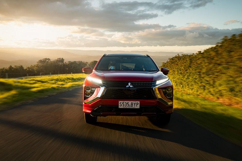 Mitsubishi Eclipse Cross PHEV 2021 tại Úc có 3 bản trang bị