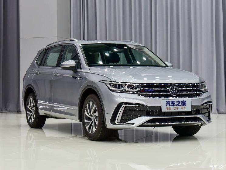 Volkswagen Tiguan L 2021 trình làng tại Trung Quốc