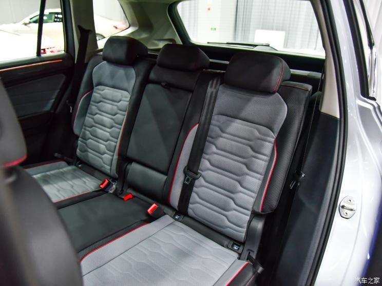 Ghế sau của Volkswagen Tiguan L 2021