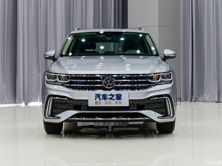 Cận cảnh đầu xe của Volkswagen Tiguan L 2021