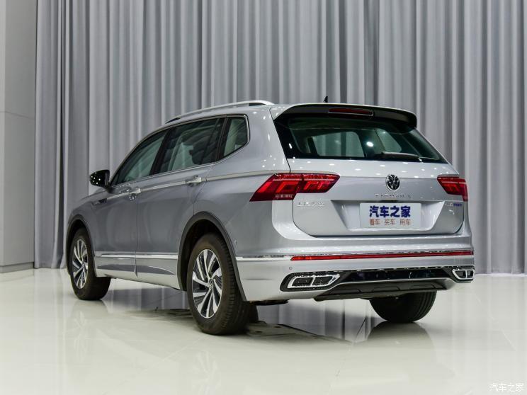 Volkswagen Tiguan L 2021 ra mắt trong triển lãm Ô tô Quốc tế Quảng Đông - Hồng Kông - Macao 2021 tại Trung Quốc