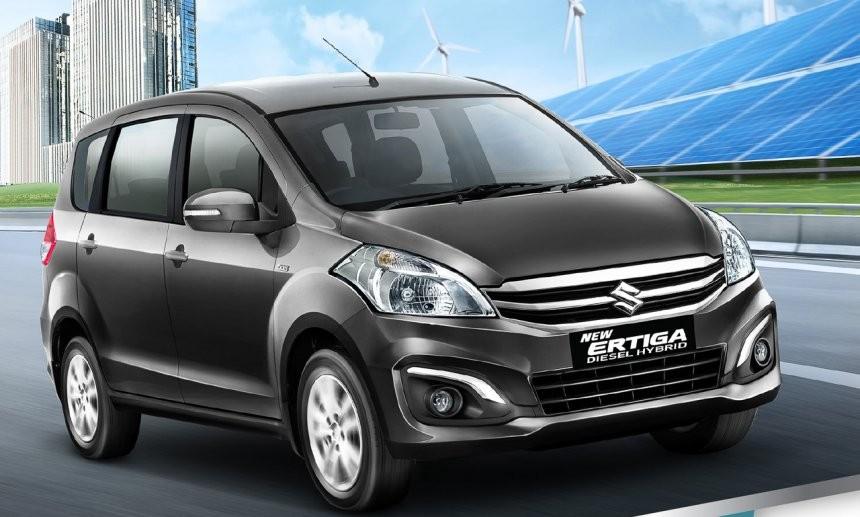 Suzuki Ertiga Diesel-Hybrid ra mắt Indonesia vào năm 2017