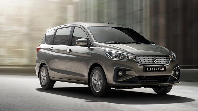 Suzuki Ertiga rục rịch có thêm phiên bản hybrid mới