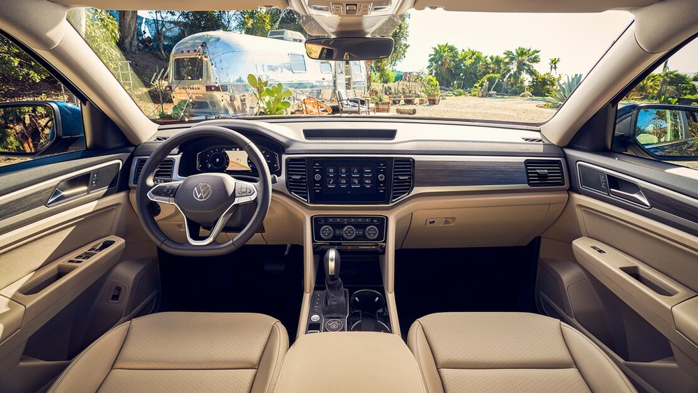 Nội thất bên trong Volkswagen Teramont 2021