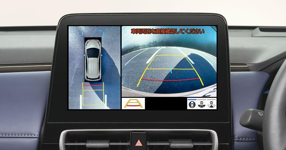 Toyota Prius c 2021 có camera 360 độ