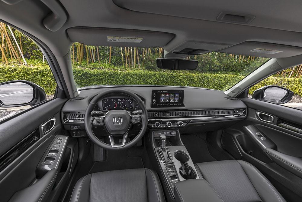 Nội thất của Honda Civic 2022 dành cho thị trường Mỹ