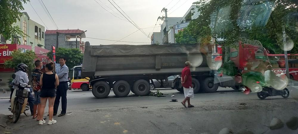 Vụ tai nạn khiến người đi xe máy tử vong tại chỗ