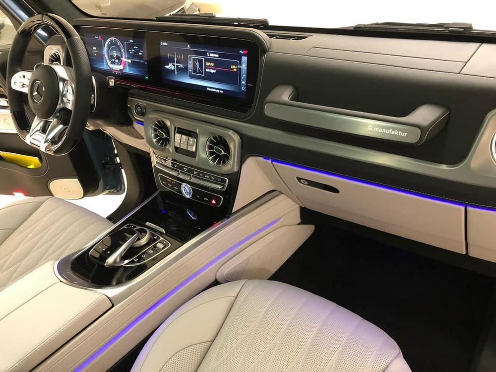 Nội thất xe Mercedes-AMG G63