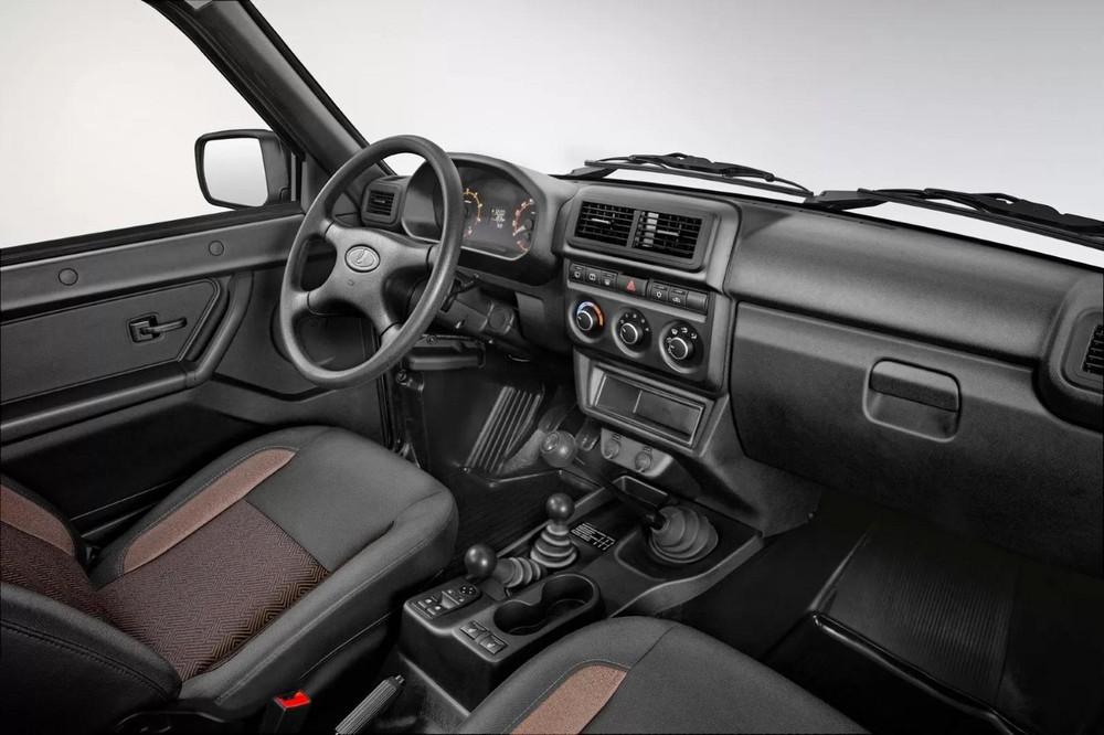 Đây là nội thất của Lada Niva Legend 2020, dự kiến sẽ được bê nguyên sang Niva Bronto