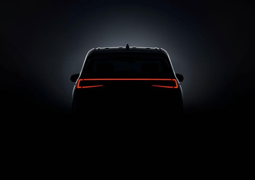 Đèn hậu nối liền với nhau của Hyundai Custo 2021