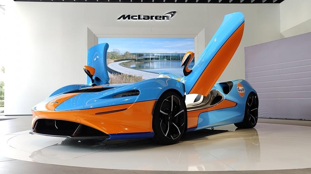 McLaren Elva đã về đến sát Việt Nam, đất nước được giới thiệu là Campuchia