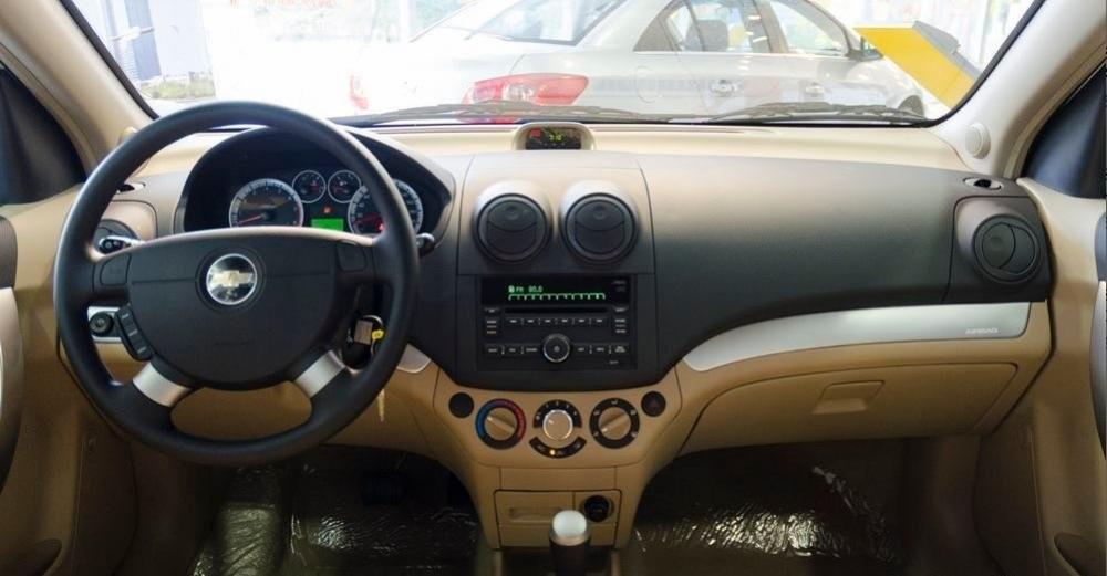 Nội thất của Chevrolet Aveo 2021