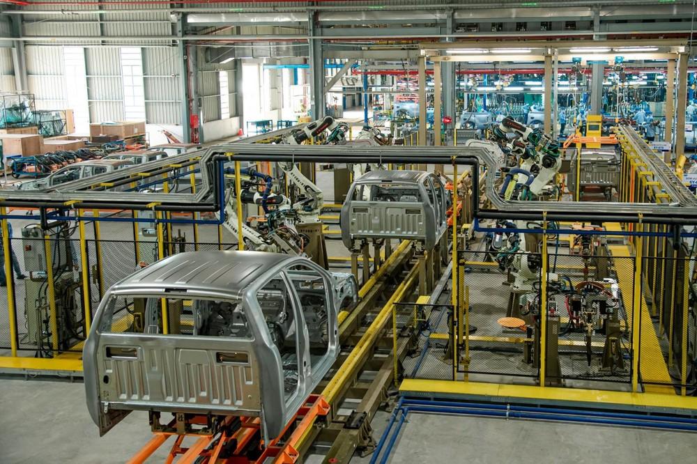 Dù được lắp ráp trong nước nhưng tỉ lệ nội địa hóa của Ford Ranger chỉ đạt 10%, vẫn có tới 90% linh kiện cần phải nhập khẩu.