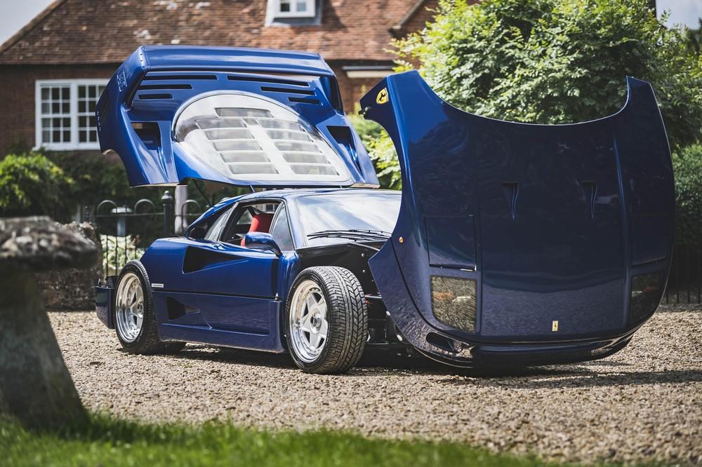 Trên thế giới, chỉ có hơn 1.300 chiếc Ferrari F40 như thế này