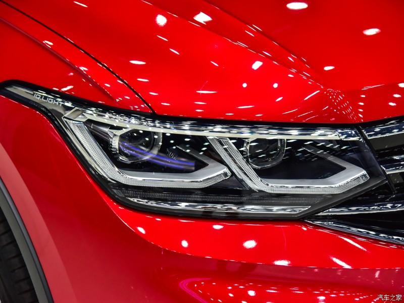 Cận cảnh đèn pha của Volkswagen Tiguan X