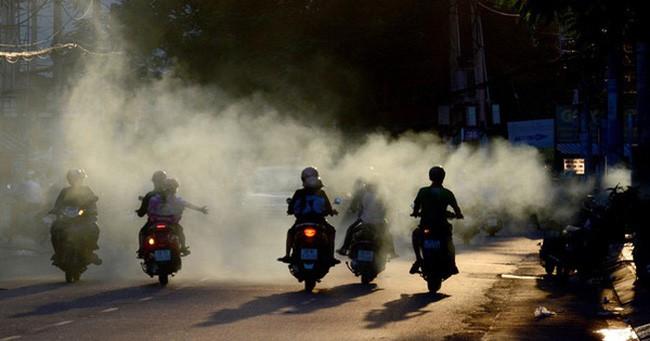 Hà Nội chuẩn bị kiểm soát khí thải trên xe máy