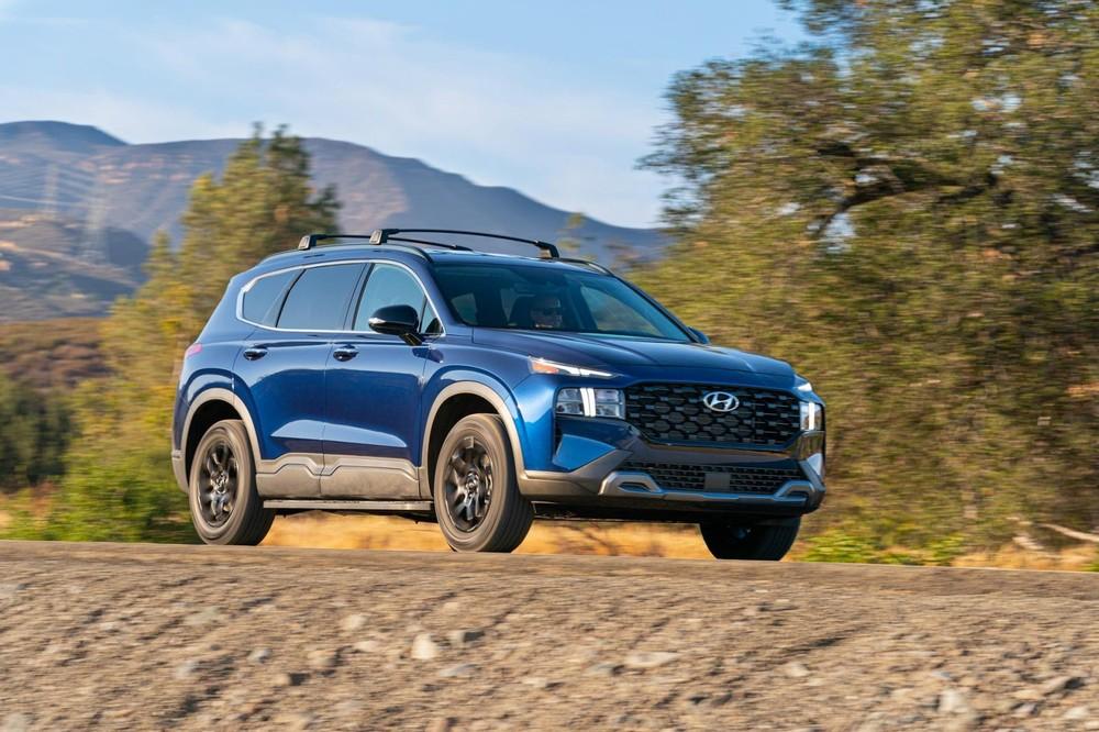 Hyundai Santa Fe XRT 2022 ra mắt thị trường Mỹ