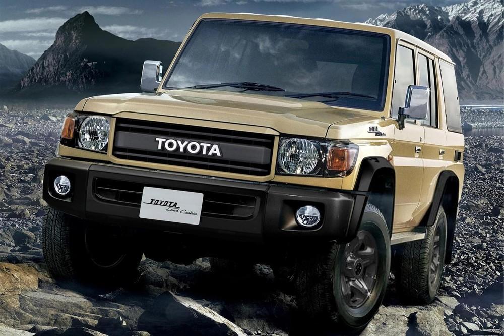 Toyota Land Cruiser 70 Series 70th Anniversary