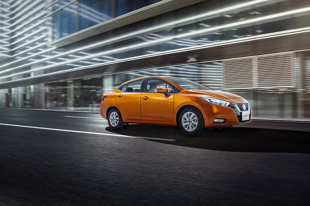 Kích thước tổng thể của Nissan Almera 2021 là 4.495 x 1.740 x 1.460 mm (D x R x C).