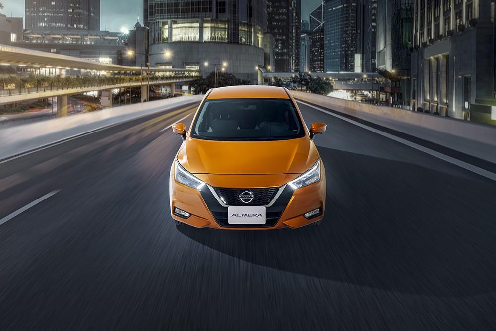 Nissan Almera sẽ cạnh tranh trực tiếp với những cái tên như Toyota Vios, Honda City.