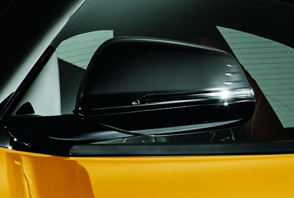 Ốp gương ngoại thất màu đen của Toyota GR Supra SZ-R 35th Anniversary Edition