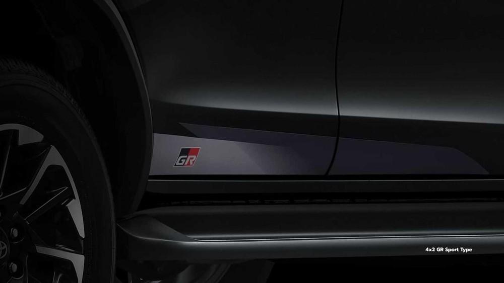 Tem GR Sport mới của Toyota Fortuner GR Sport 2022