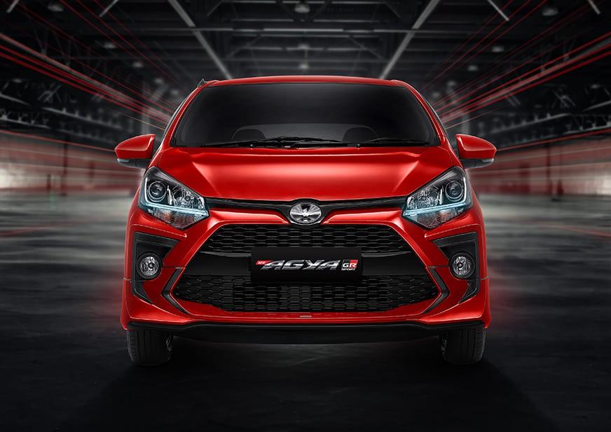 Thiết kế đầu xe của Toyota Wigo GR Sport 2022