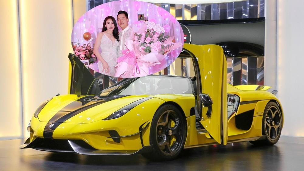 Koenigsegg Regera đã được vợ chồng Hoàng Kim Khánh đặt mua từ lâu