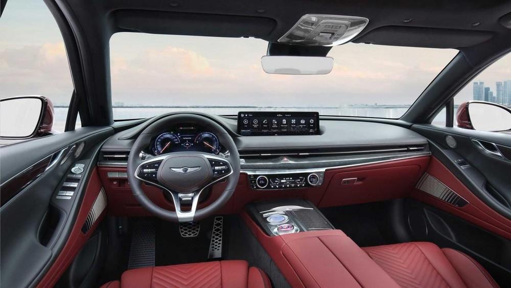 Nội thất bên trong Genesis G80 Sport 2022