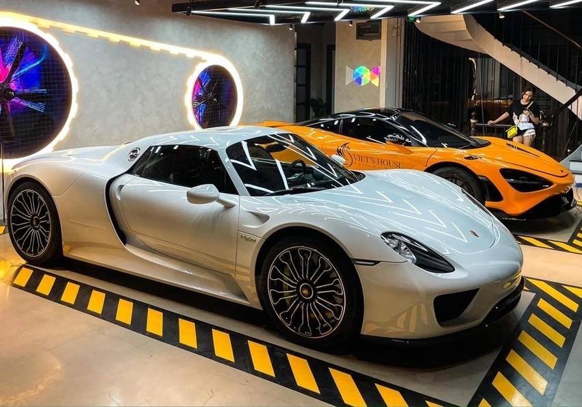 Porsche 918 Spyder độc nhất Việt Nam tính đến nay