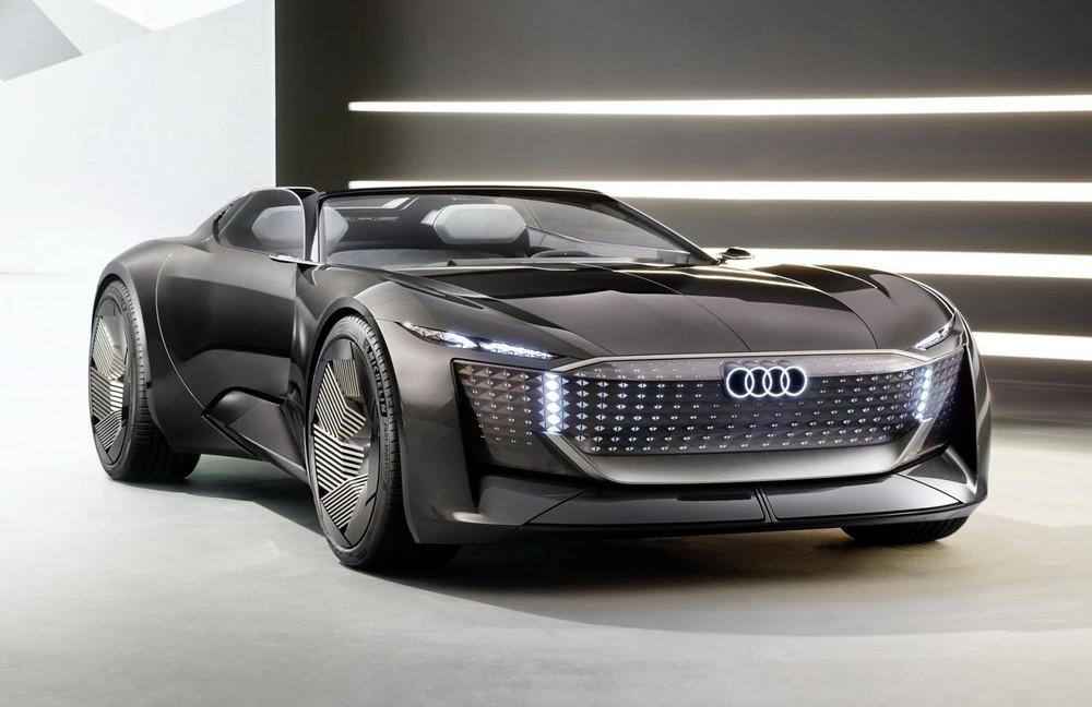 Thiết kế đầu xe Audi Skysphere Concept