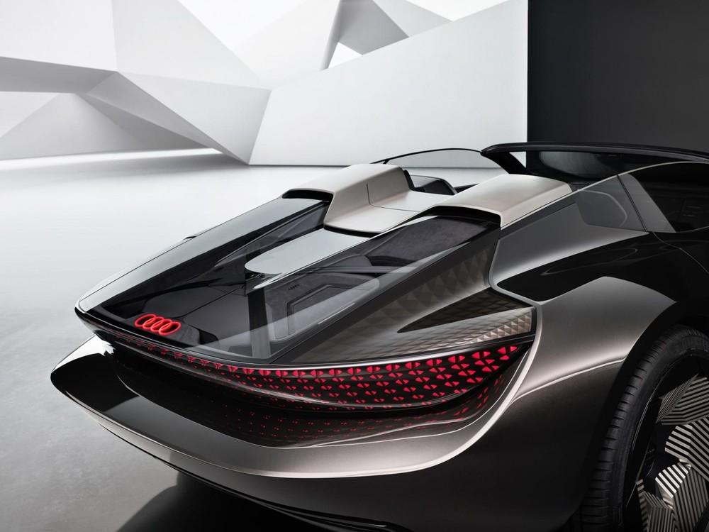 Thiết kế đuôi xe Audi Skysphere Concept