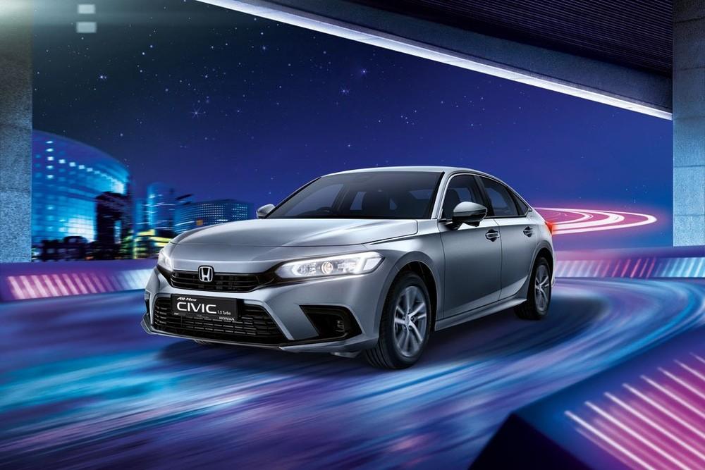 Honda Civic 2022 trình làng với giá cao tại Singapore