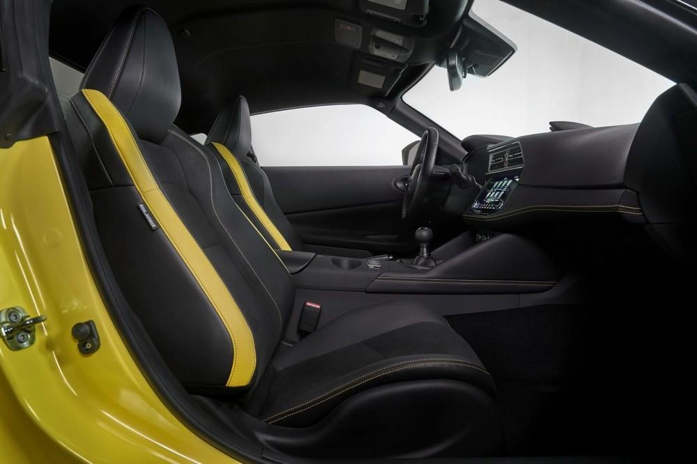 Nội thất của Nissan Z 2023 bản Proto